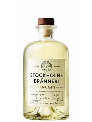 Stockholms Bränneri Oak Gin 45% 0,5l