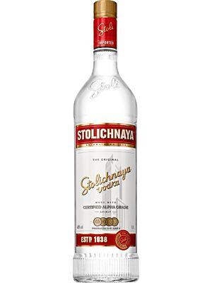 Stolichnaya Vodka Premium Vodka 40% 1,0l