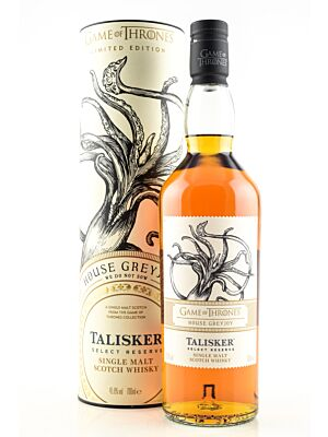 Talisker Select Reserve House Greyjoy - Game of Thrones 45.8% 0.7l