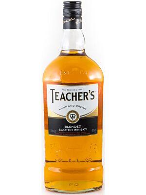 Teachers Highland Cream Blended Scotch Whisky 40% 1.0l
