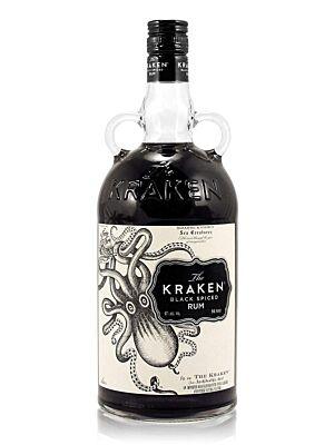 The Kraken Black Spiced Rum 40% 1,0l