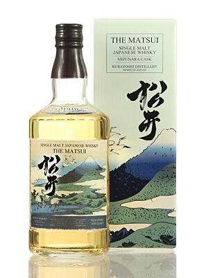 Matsui Mizunara Cask Japanese Single Malt Whisky 48% 0,7l