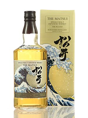 Matsui The Peated Japanese Single Malt Whisky 48% 0,7l