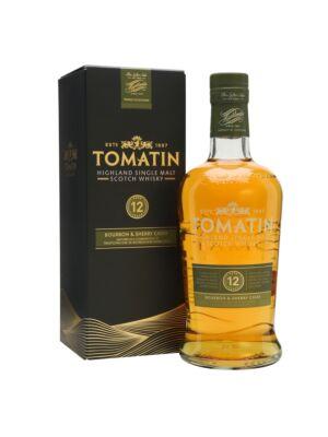 Tomatin 12 years Highland Single Malt Scotch Whisky 43% 1,0l