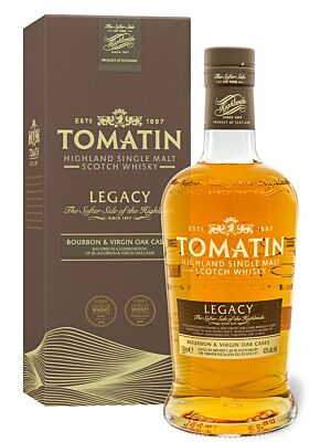 Tomatin Legacy Highland Single Malt Scotch Whisky 43% 0,7l