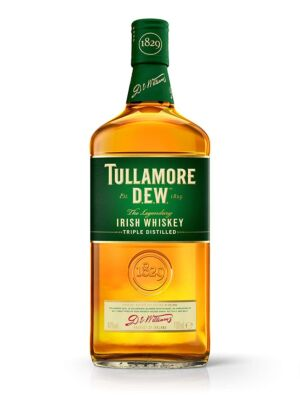 Tullamore Dew Blended Irish Whiskey 40 % 1 l