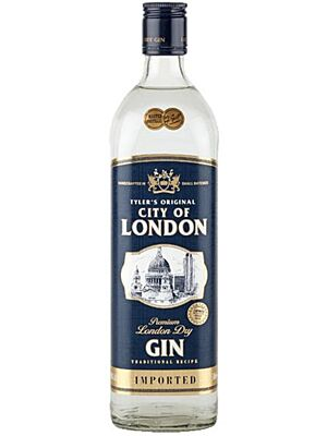 Tyler's Original City of London Dry Gin 40% 0,7l