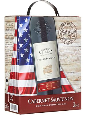 Western Cellars Cabernet Sauvignon Bag in Box 12,5% 3,0l