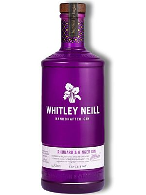 Whitley Neill Rhubarb & Ginger Small Batch Gin 43% 1,0l