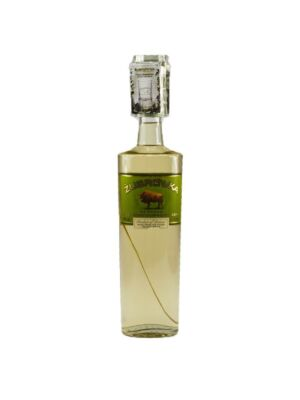 Zubrowka Bison Grass Vodka 1 l + Glas