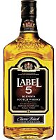 Label 5 Classic Black Blended Scotch Whisky 1 l