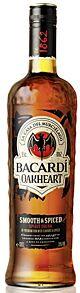 Bacardi Oakheart Smooth & Spiced Spirit Drink 1 l