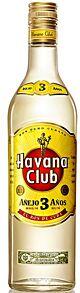 Havana Club Anejo 3 Anos Rum 1 l