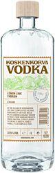 Koskenkorva Lemon Lime Yarrow Vodka 37,5 % 1,0 l
