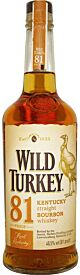 Wild Turkey 81 Proof Bourbon Whiskey 40,5% 1,0l